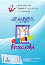 Cartel Programa VI Jornadas de los Servicios Especiales de Orientación (Cefire Valencia)