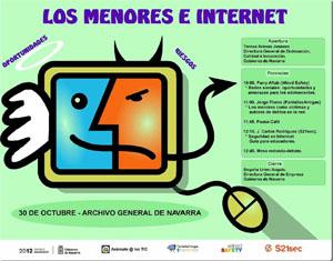Los menores e Internet. 30 de Octubre – Archivo General de Navarra